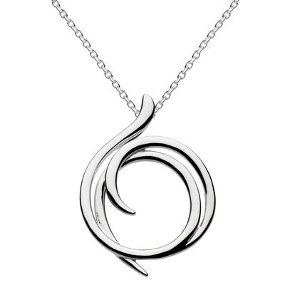 Kit Heath Sterling Silver Helix Necklace