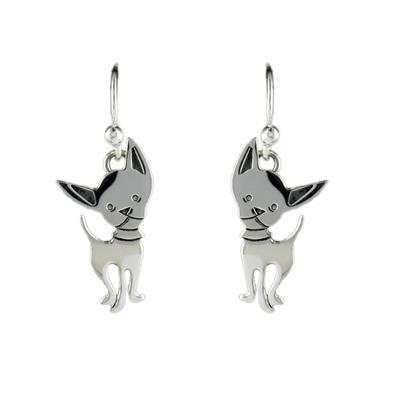 Far Fetched Sterling Silver Chi- Wa- Wa Earrings