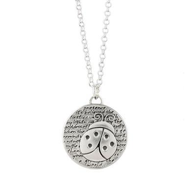 Kevin N Anna Sterling Silver Ladybug - Presence Necklace