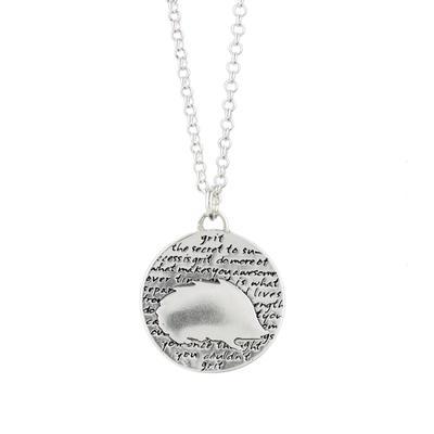 Kevin N Anna Sterling Silver Hedgehog - Grit Necklace