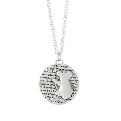 Kevin N Anna Sterling Silver Koala - Resilience Necklace