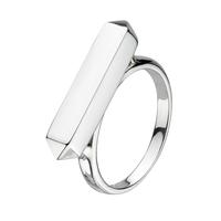 Kit Heath Sterling Silver Manhattan Bar Ring