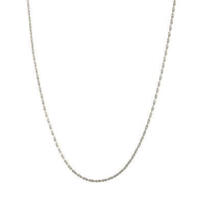 Delicate Sterling Silver Chain Choker