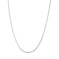 Delicate Sterling Silver Chain Choker