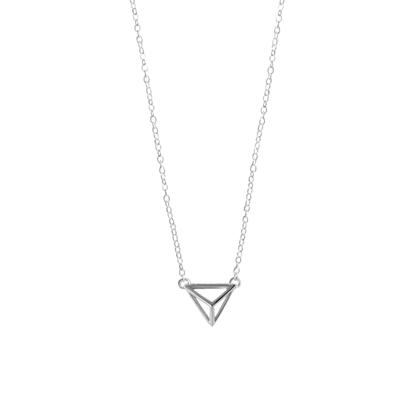Boma Sterling Silver Pyramid Necklace