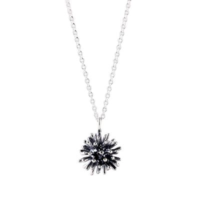 Tashi Sterling Silver Burst Necklace