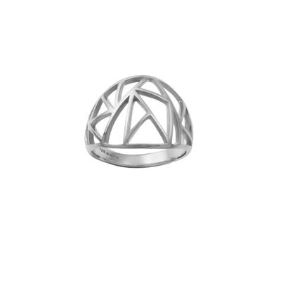 Boma Fractured Sterling Silver Ring