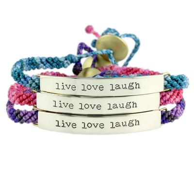 Live Love Laugh Wakami Bracelet