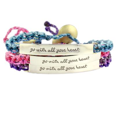 Go With All Your Heart Wakami Bracelet