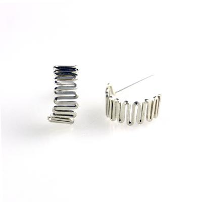 By Boe Sterling Silver Stacked Hoops