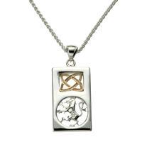Keith Jack Lion Rampant Necklace