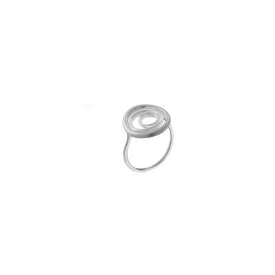 Boma Sterling Silver Concentric Circles Ring
