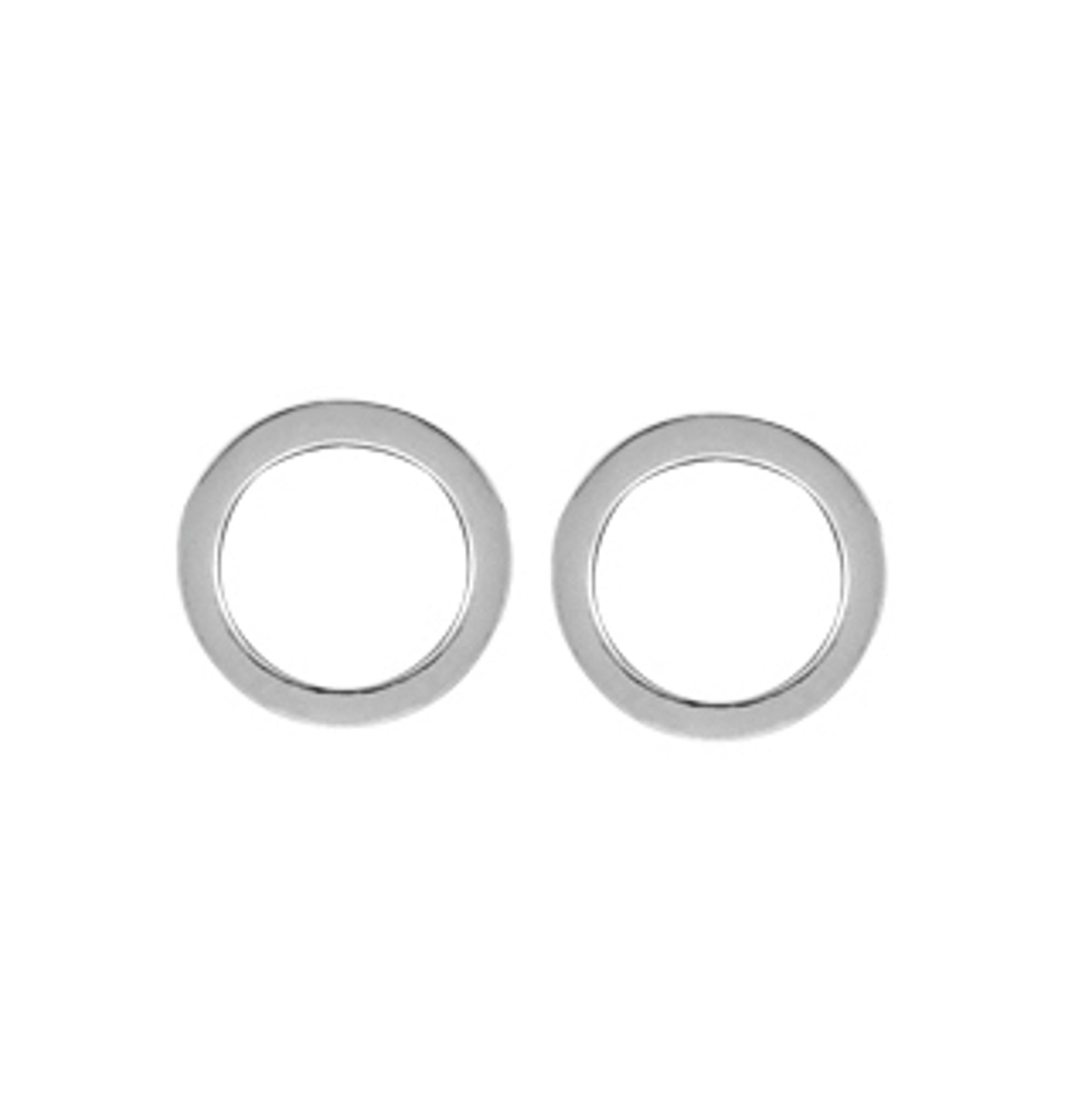 Boma Sterling Silver Open Circle Studs