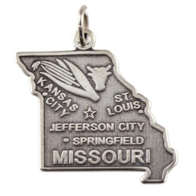 Sterling Silver Missouri Charm