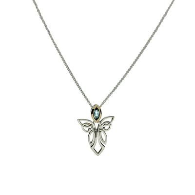 Keith Jack Guardian Angel Necklace