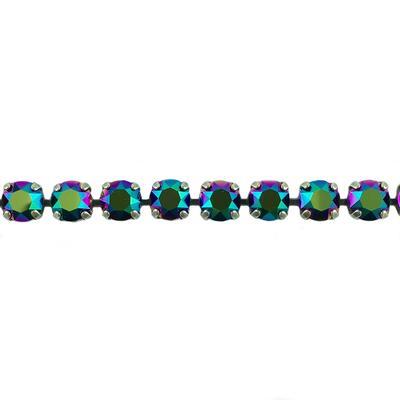 Krikor Scarabaeus Green Swarovski Crystal Bracelet