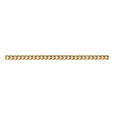 Gold Plated Tiny Curb Chain