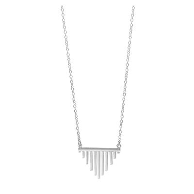 Boma Sterling Silver Multi- Bar Necklace