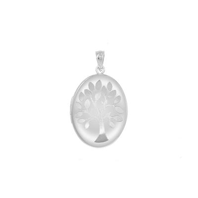 Sterling Silver Tree Of Life Locket