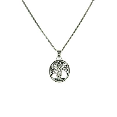 Keith Jack Silver Tree Of Life Necklace