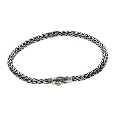 Keith Jack Dragon Weave Rope Bracelet