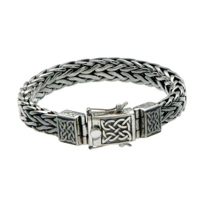 Keith Jack Heavy Dragon Weave Bracelet