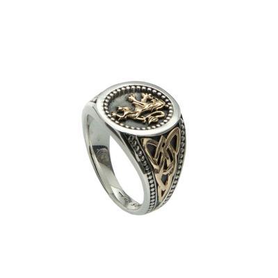 Keith Jack Lion Rampant Ring