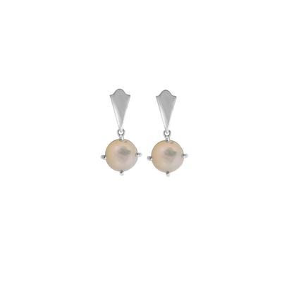 Boma Sterling Silver & Mother Of Pearl Drop Earrings