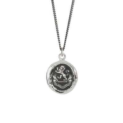 Pyrrha Sterling Silver From God Talisman Necklace