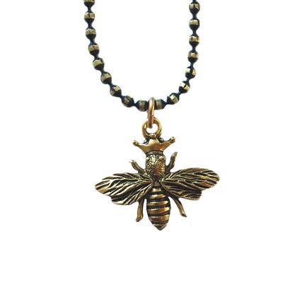 Clara Beau Golden Bee Necklace