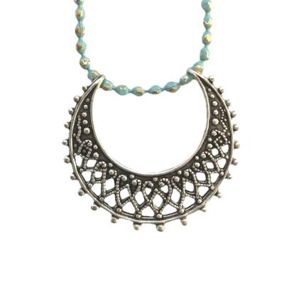 Clara Beau Crescent Moon Necklace