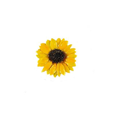 Large Sunflower Pin