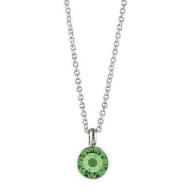 Roberto Martinez Peridot Swarovski Crystal Necklace