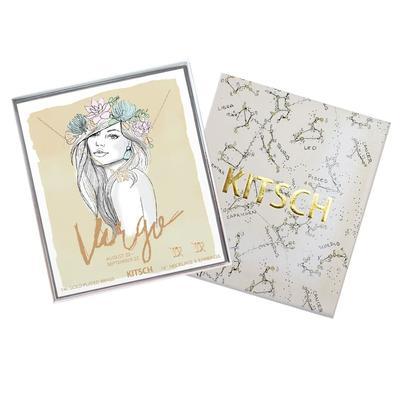 Kitsch Virgo Necklace & Stud Set
