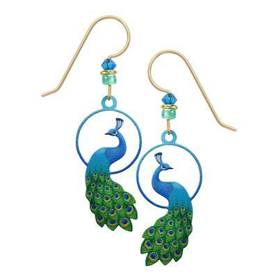 Sienna Sky Peacock Earrings