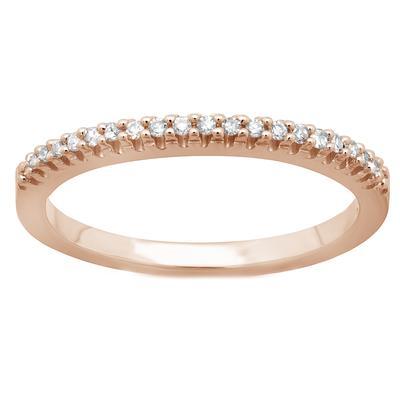 Elsa M Jillian Diamond & Rose Gold Ring