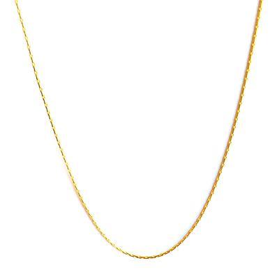 Simple Gold Vermeil Choker