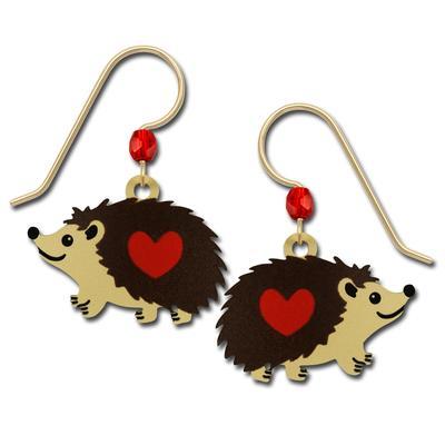 Sienna Sky Hedgehog Earrings