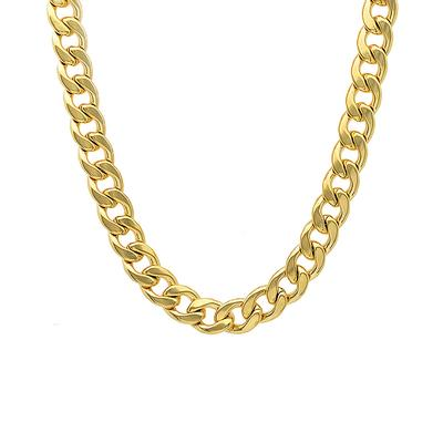 Gold Plated Stainless Steel Curb Chain
