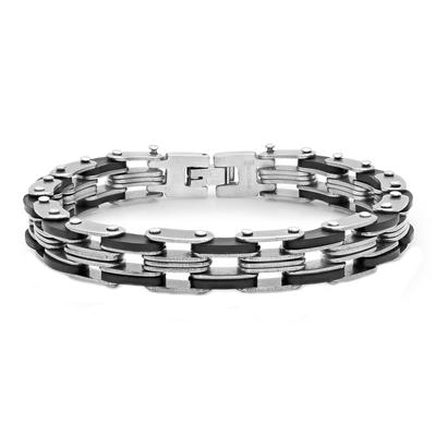 Men's Stainless Steel Bicycle Chain Bracelet