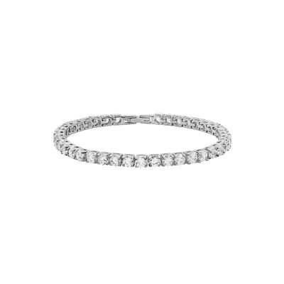 Stainless Steel Cz Tennis Bracelet
