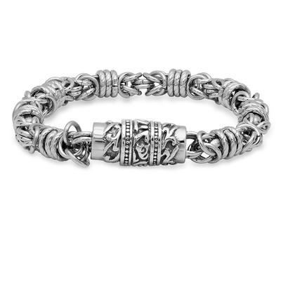 Men's Stainless Steel Ring Chain Bracelet