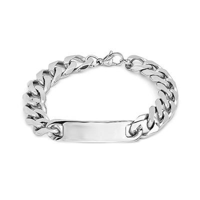 Men's Stainless Steel Id Bracelet