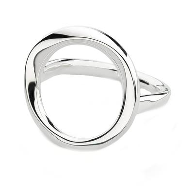 Kit Heath Sterling Silver Open Bevel Cirque Ring