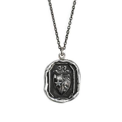 Pyrrha Sterling Silver Sisterhood Talisman Necklace