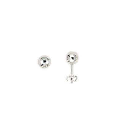 Sterling Silver 7mm Ball Studs