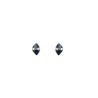 Mimi & Marge Sterling Silver Sapphire Wrap Studs