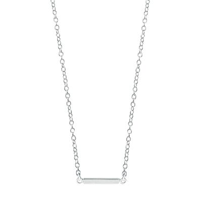 Boma Sterling Silver Mini Bar Necklace